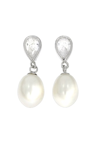 Vivance Ohrhaken »925/ -  Sterling Silber Perlen Zirkonia« kaufen