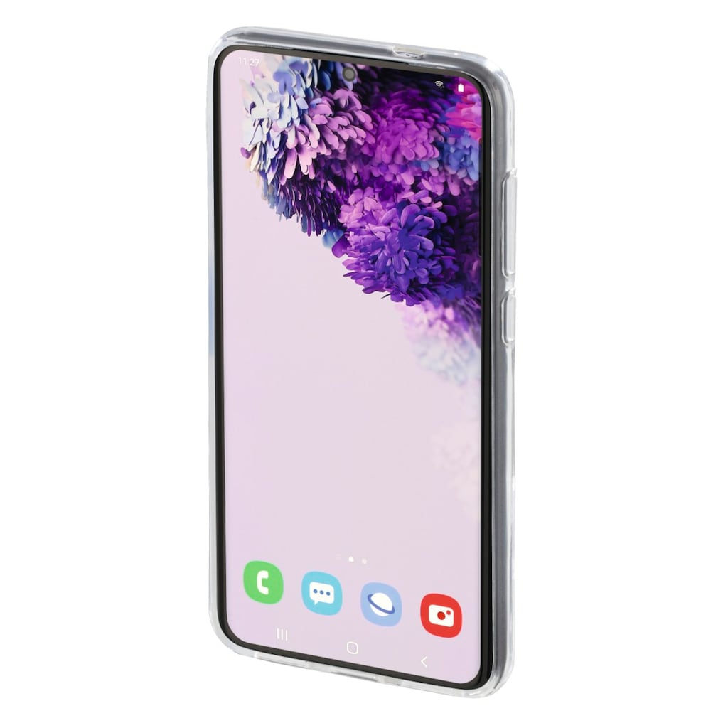Hama Cover, Hülle für Samsung Galaxy S20 + Transparent