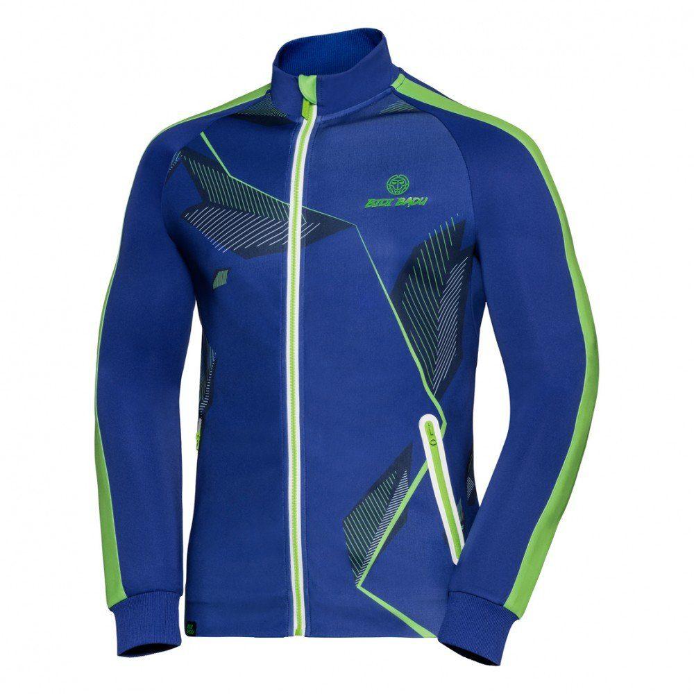 BIDI BADU Trainingsjacke mit Kinnschutz | Sportbekleidung > Sportjacken | Blau | Elasthan | Bidi Badu