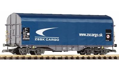 """PIKO Güterwagen """"Schiebeplanenwagen Shimmns Zssk Cargo"""", Spur G kaufen"""