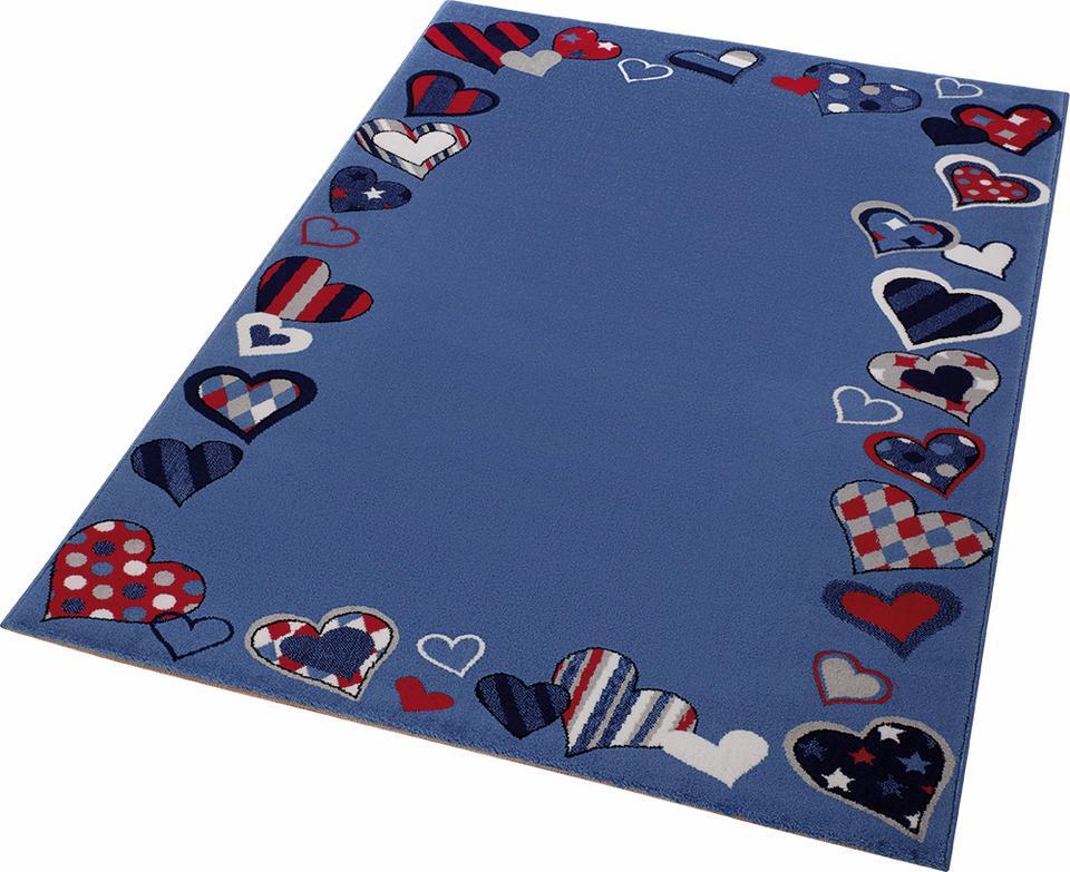 Kinderteppich Just Hearts Wecon Home rechteckig Höhe 8 mm