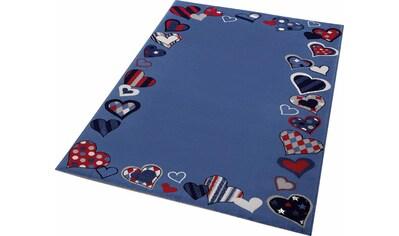 Kinderteppich, »Just Hearts«, Wecon home, rechteckig, Höhe 8 mm, maschinell gewebt kaufen
