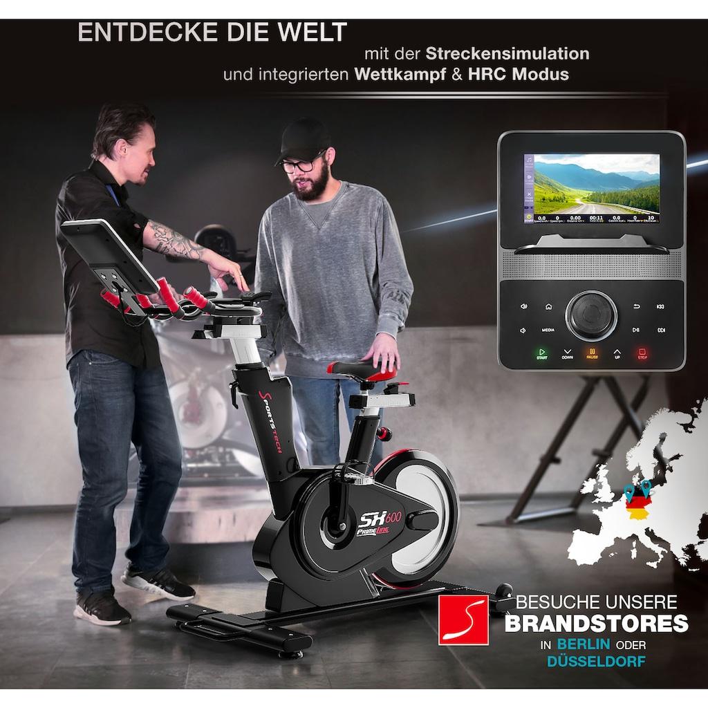 """Sportstech Speedbike »SX600«, 7"""" Android Konsole"""