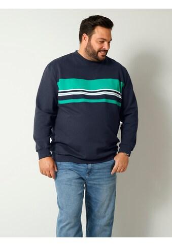 Men Plus Sweatshirt, aus reiner Baumwolle kaufen