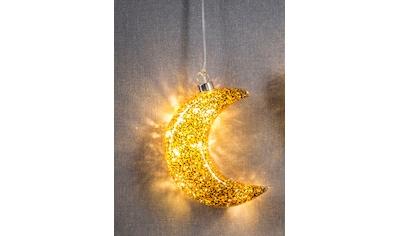 HGD Holz - Glas - Design Beleuchteter LED - Glasmond mit Dekor kaufen