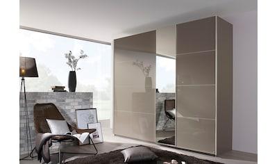 rauch BLACK Schwebetürenschrank, mit Glasfront und Spiegel kaufen