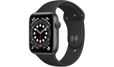 Apple Series 6 GPS, Aluminiumgehäuse mit Sportarmband 44mm Watch kaufen