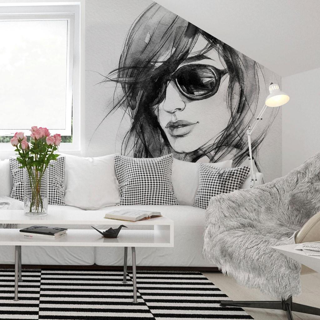 Wall-Art Vliestapete »I wear my sunglasses«