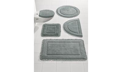 Badteppich mit Häkelbordüre kaufen