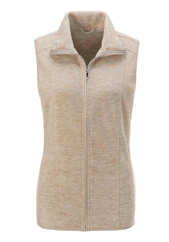 Classic Basics Fleece - Weste in weicher Qualität kaufen