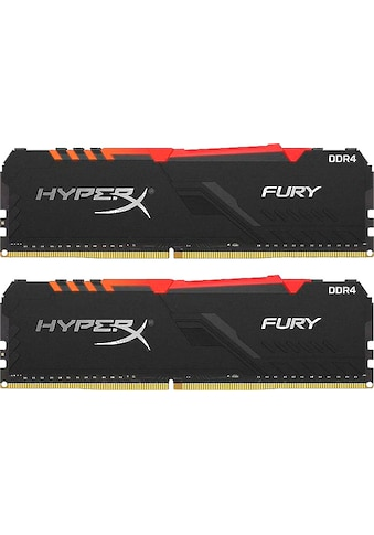 HyperX »HyperX Fury RGB DDR4 3000MHZ 16GB (2x 8GB) Black« PC - Arbeitsspeicher kaufen