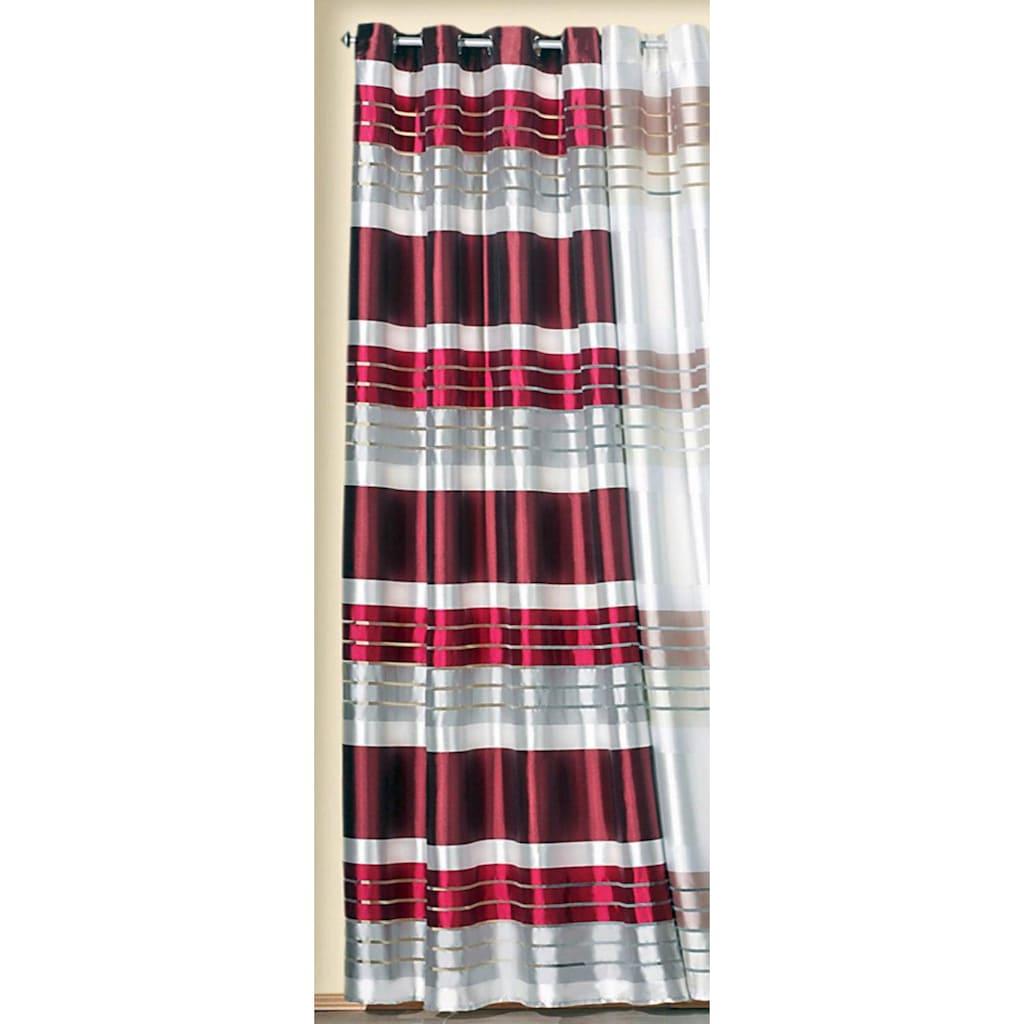 Weckbrodt Vorhang »Lotta«, HxB: 245x140