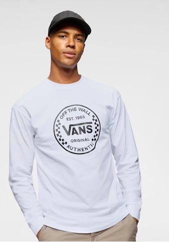 Vans Longsleeve »AUTHENTIC CHECKER LS« kaufen