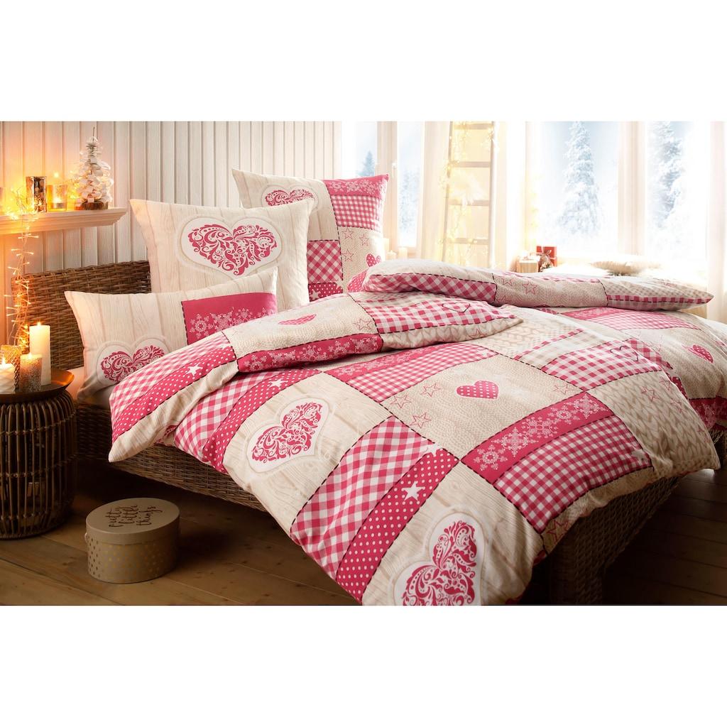 Home affaire Collection Bettwäsche »Janina«, im Patchwork-Design