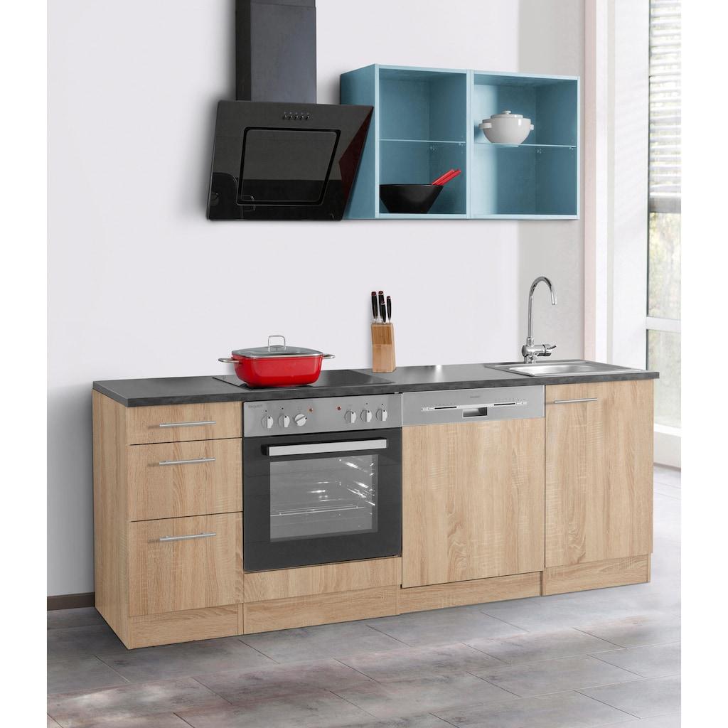 OPTIFIT Küchenzeile »Mini«, ohne E-Geräte, Breite 210 cm