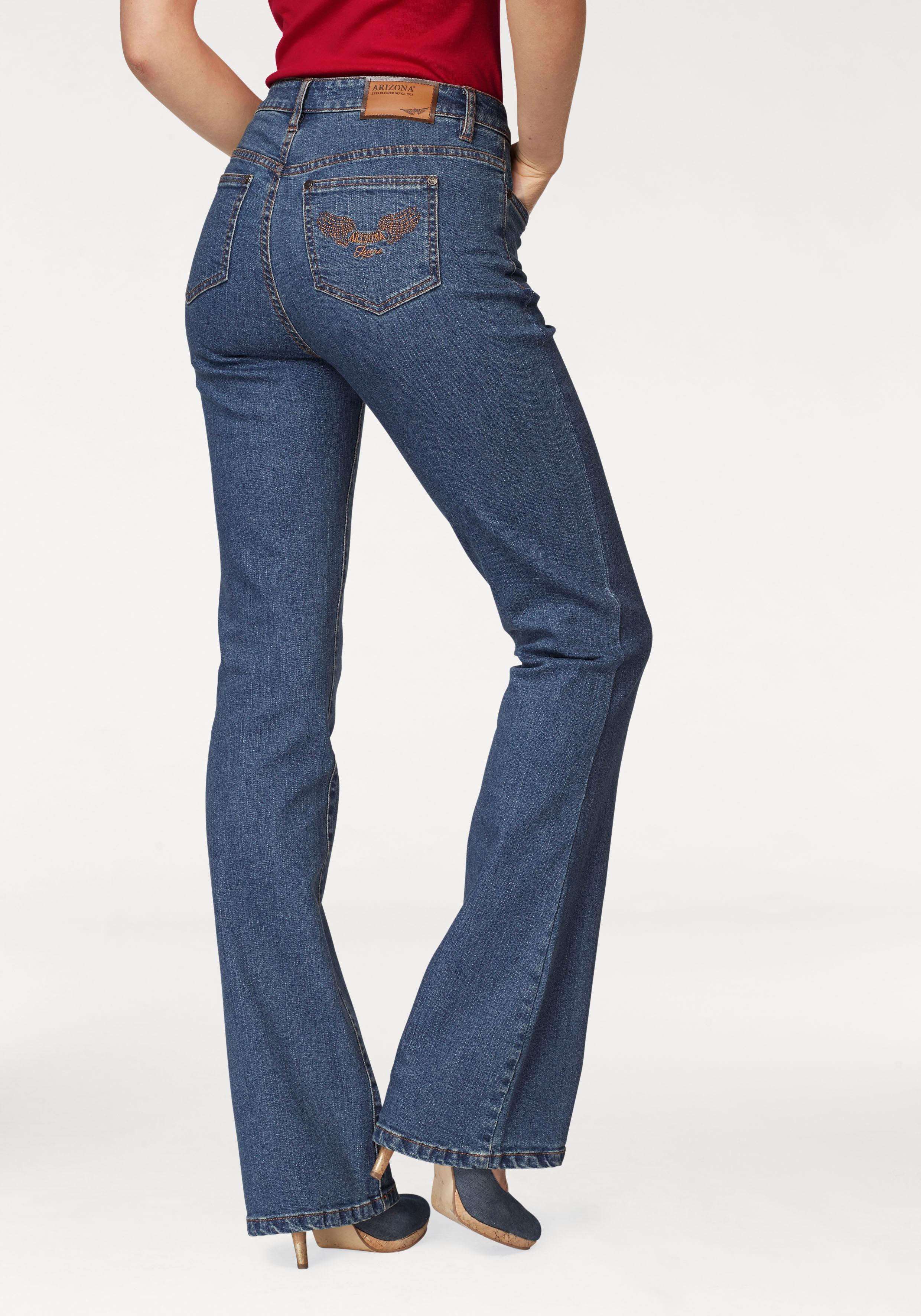 99659d6973 Arizona Bootcut-Jeans »Comfort-Fit« online kaufen | BAUR