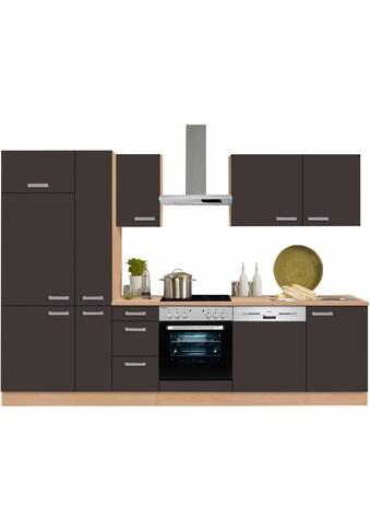 OPTIFIT Küchenzeile »Odense«, mit E-Geräten, Breite 300 cm mit 28 mm starker... kaufen