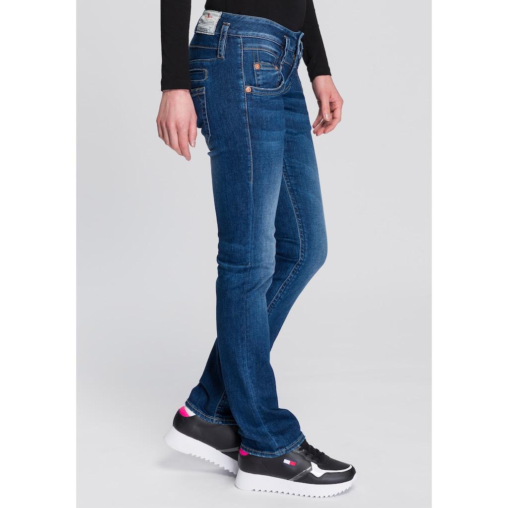 Herrlicher Gerade Jeans »PITCH SLIM ORGANIC«, umweltfreundlich dank Kitotex Technology