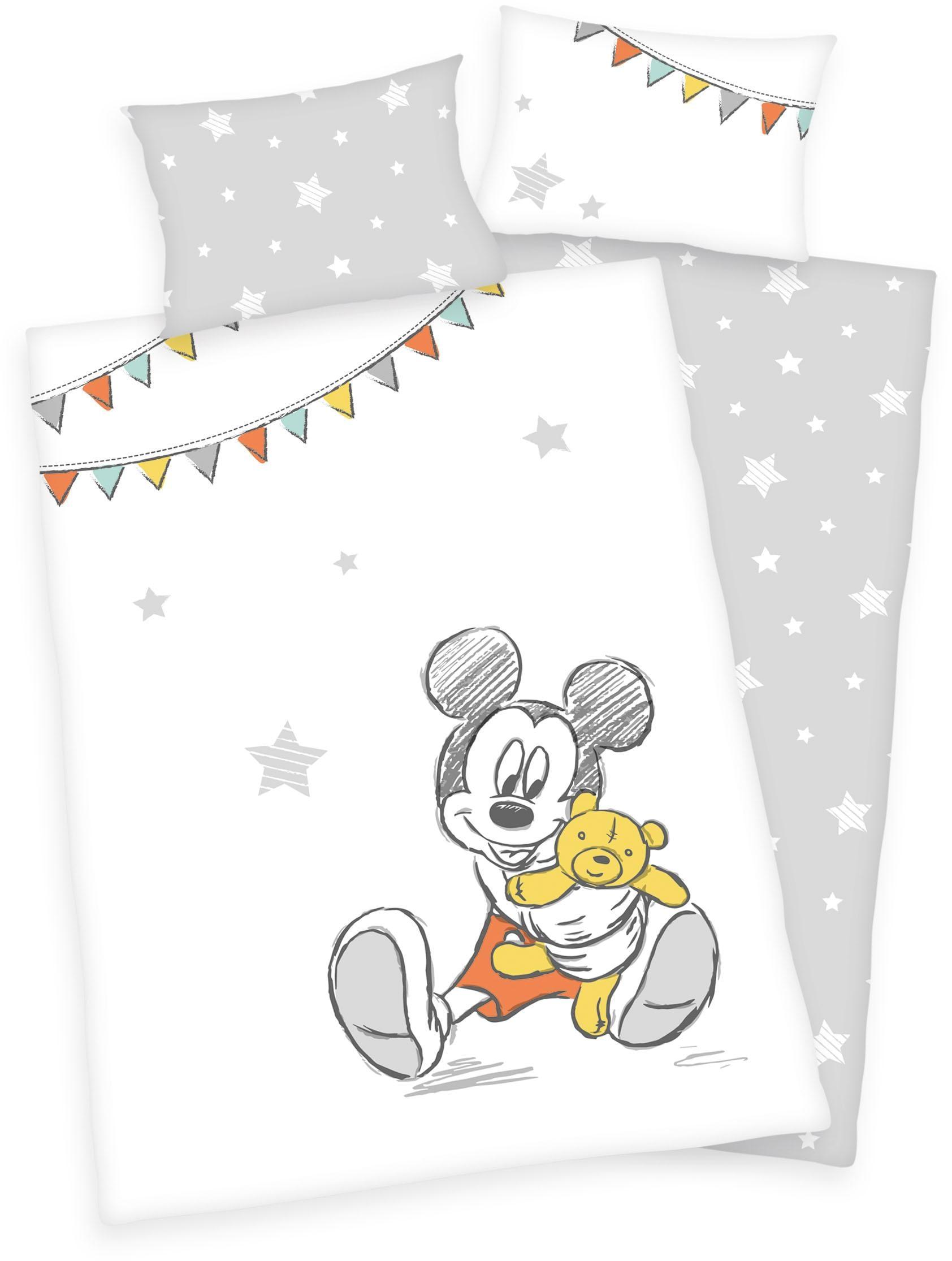 Babybettwäsche Disney´s Mickey Mouse Walt Disney