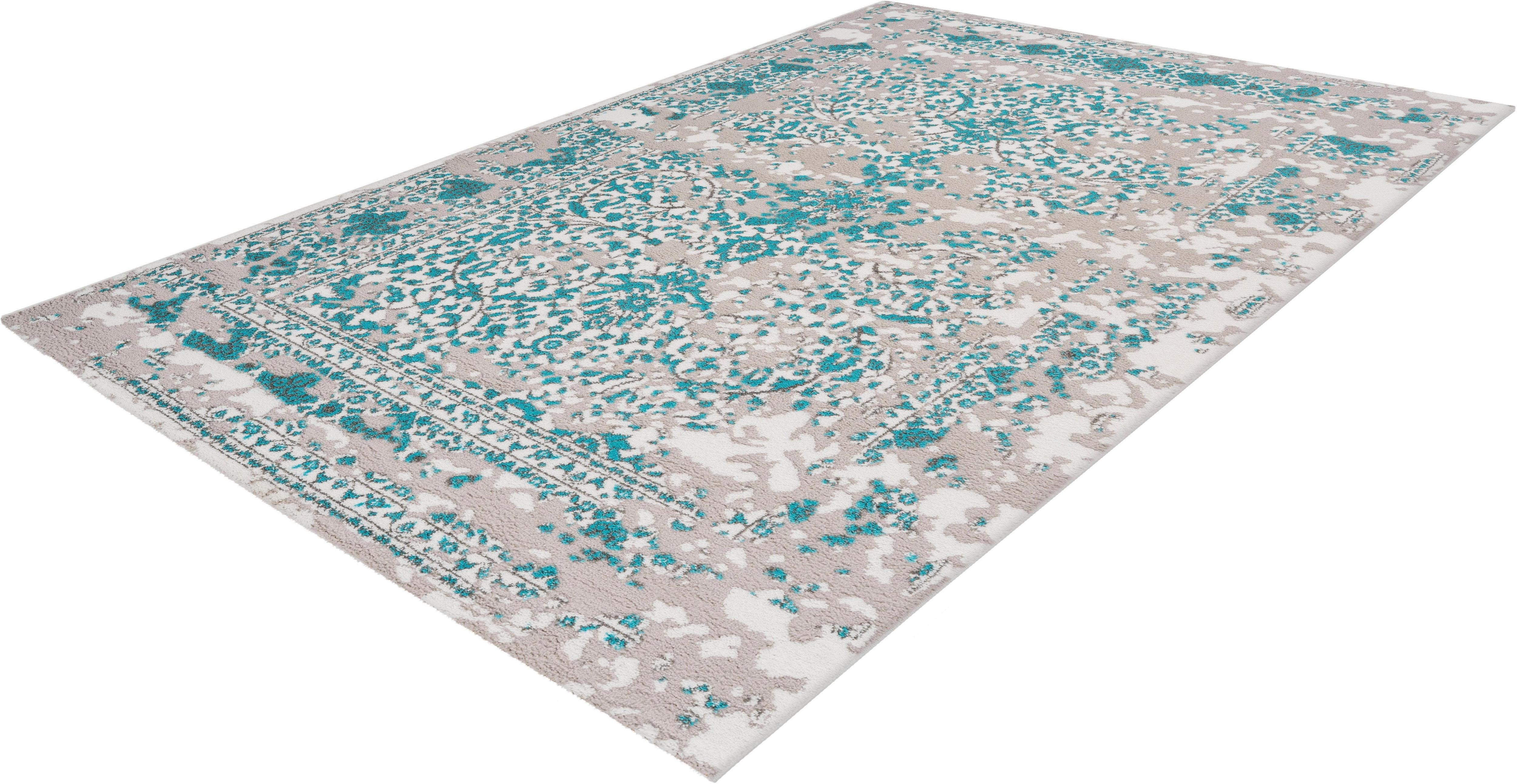Teppich Polset 353 calo-deluxe rechteckig Höhe 15 mm maschinell gewebt