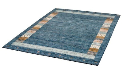 Dekowe Wollteppich »Bradley«, rechteckig, 14 mm Höhe, reine Wolle, Orient-Optik, Gabbeh Design, mit Bordüre, Wohnzimmer kaufen