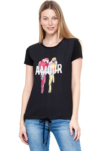 Decay T-Shirt »AMOUR«, mit stilvollem Animal-Print kaufen