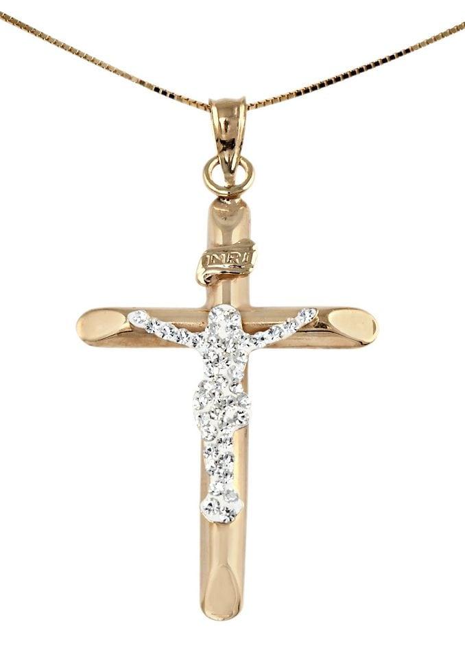 firetti Halsschmuck: Halskette »Kreuz« in Venez...