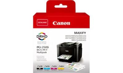Canon Tintenpatrone »PGI-2500 BK/C/M/Y Multipack«, (Packung) kaufen