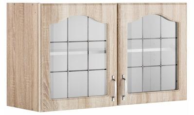 wiho Küchen Glashängeschrank »Linz«, 100 cm breit, mit 2 Glastüren kaufen