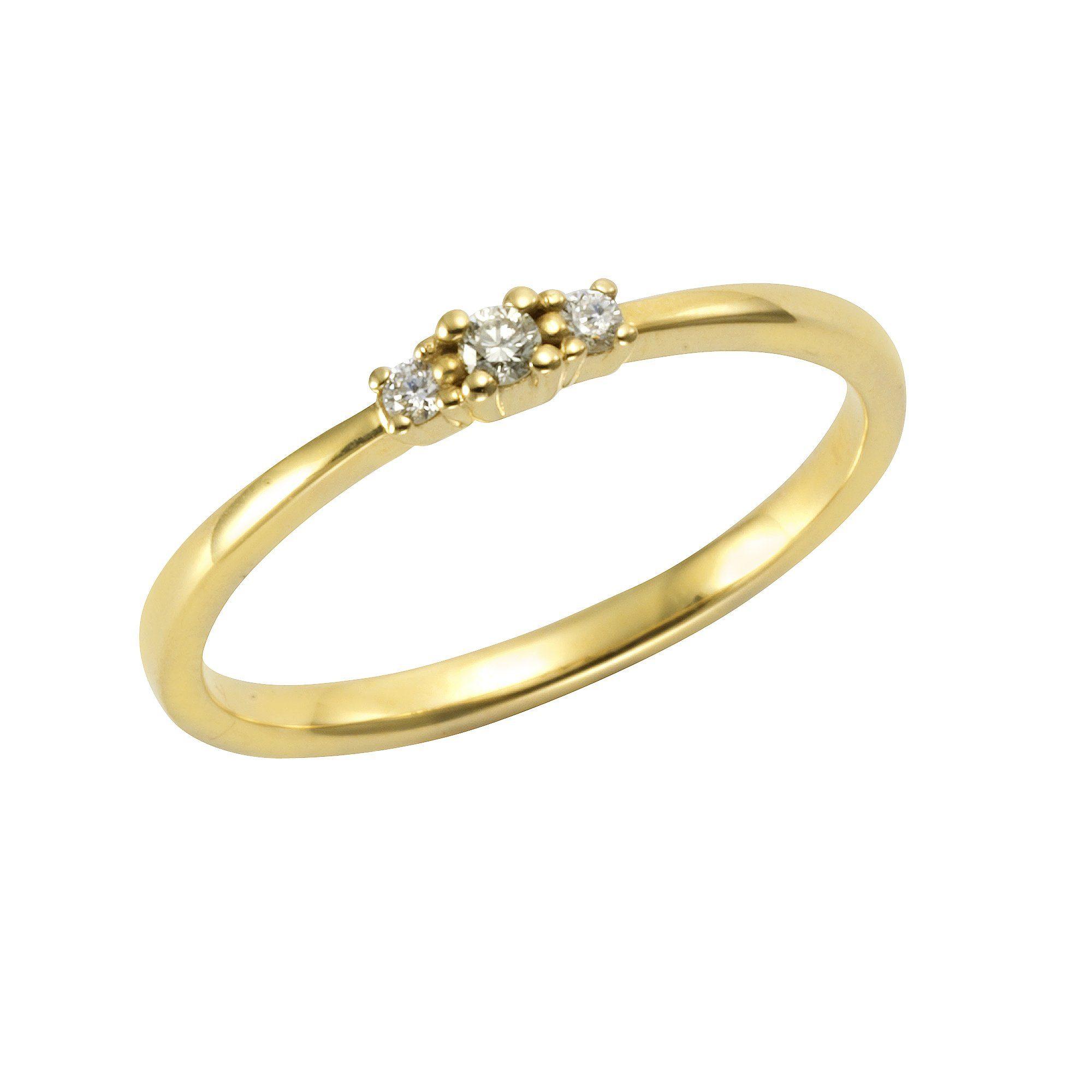 Orolino Ring 585/- Gelbgold Brillant | Schmuck > Ringe > Goldringe | Gelb | Orolino