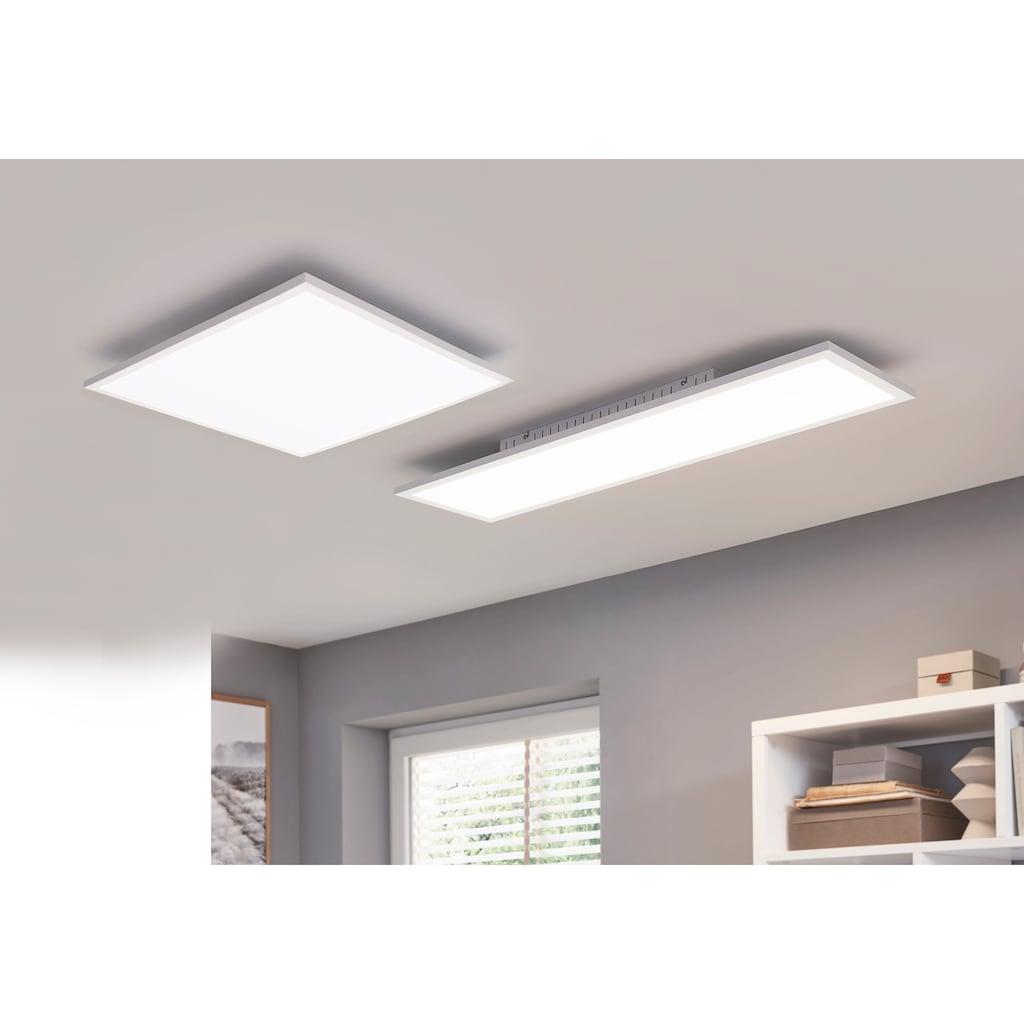 my home LED Panel »Davin«, LED-Board, Warmweiß-Neutralweiß-Kaltweiß, flache Deckenlampe 100x25 cm, dimmbar, inkl. Fernbedienung, mit Farbtemperatursteuerung (2700K-5000K)