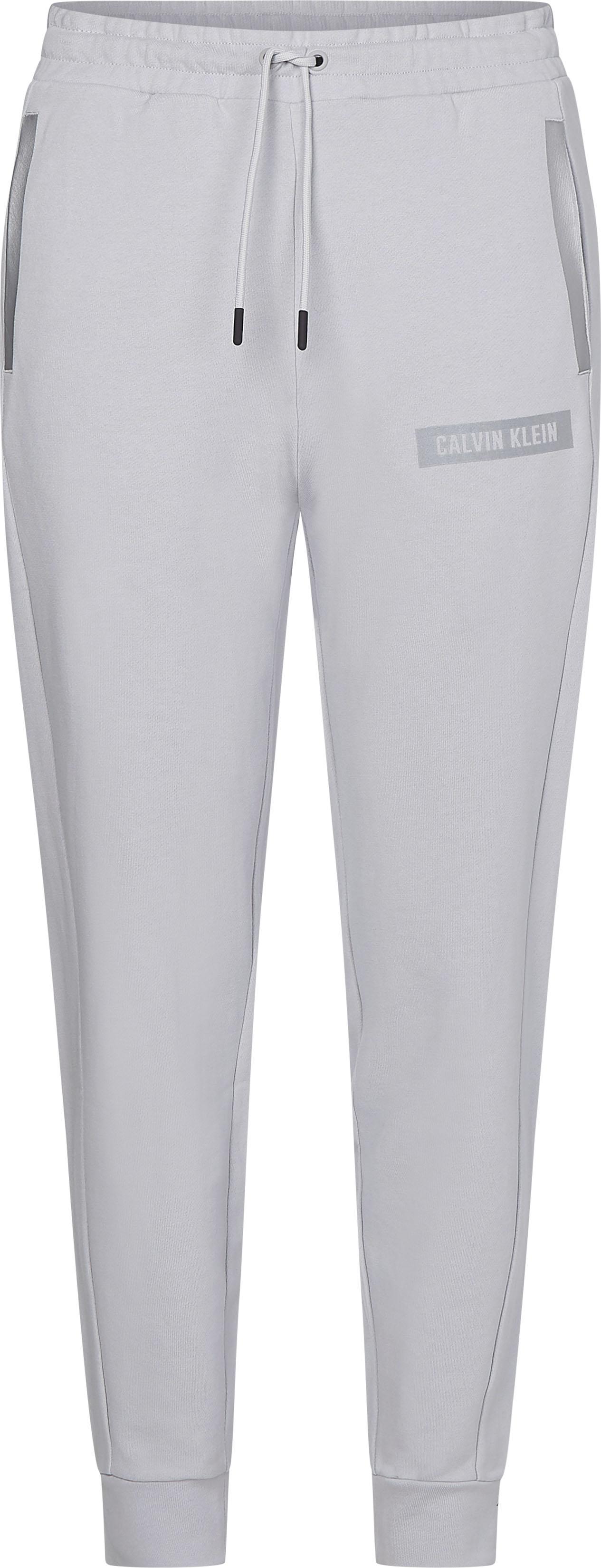 calvin klein performance -  Jogginghose PW - KNIT PANTS, mit reflektierenden, kontrastfarbenen Details