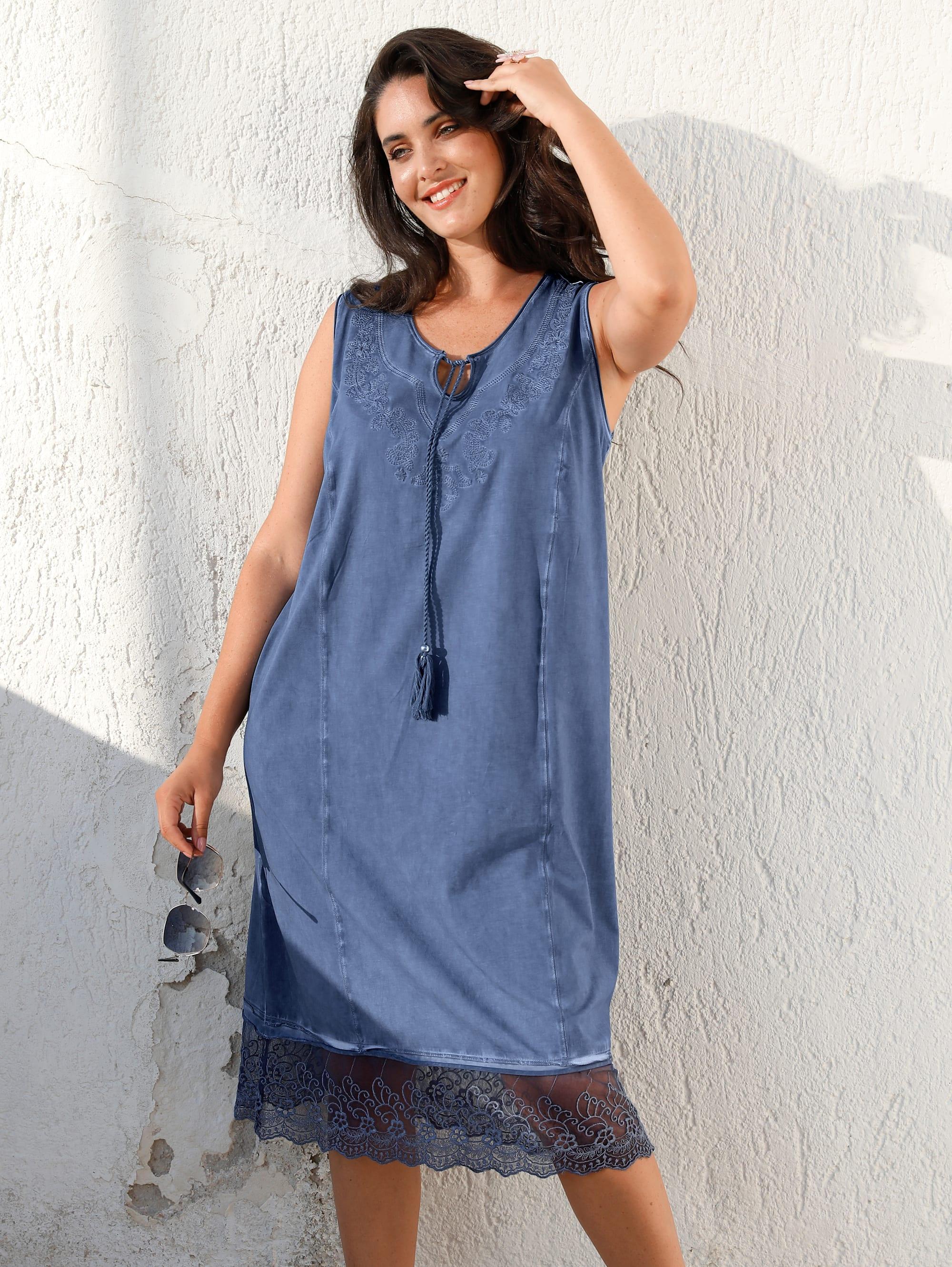 miamoda -  Sommerkleid, in Oil Washed Optik