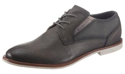 bugatti Schnürschuh »Fedele«, mit modischer heller Laufsohle kaufen