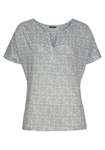 Marc O'Polo T-Shirt, mit farblich abgesetztem Print kaufen