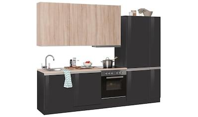 HELD MÖBEL Küchenzeile »Ohio«, mit E-Geräten, Breite 270 cm kaufen