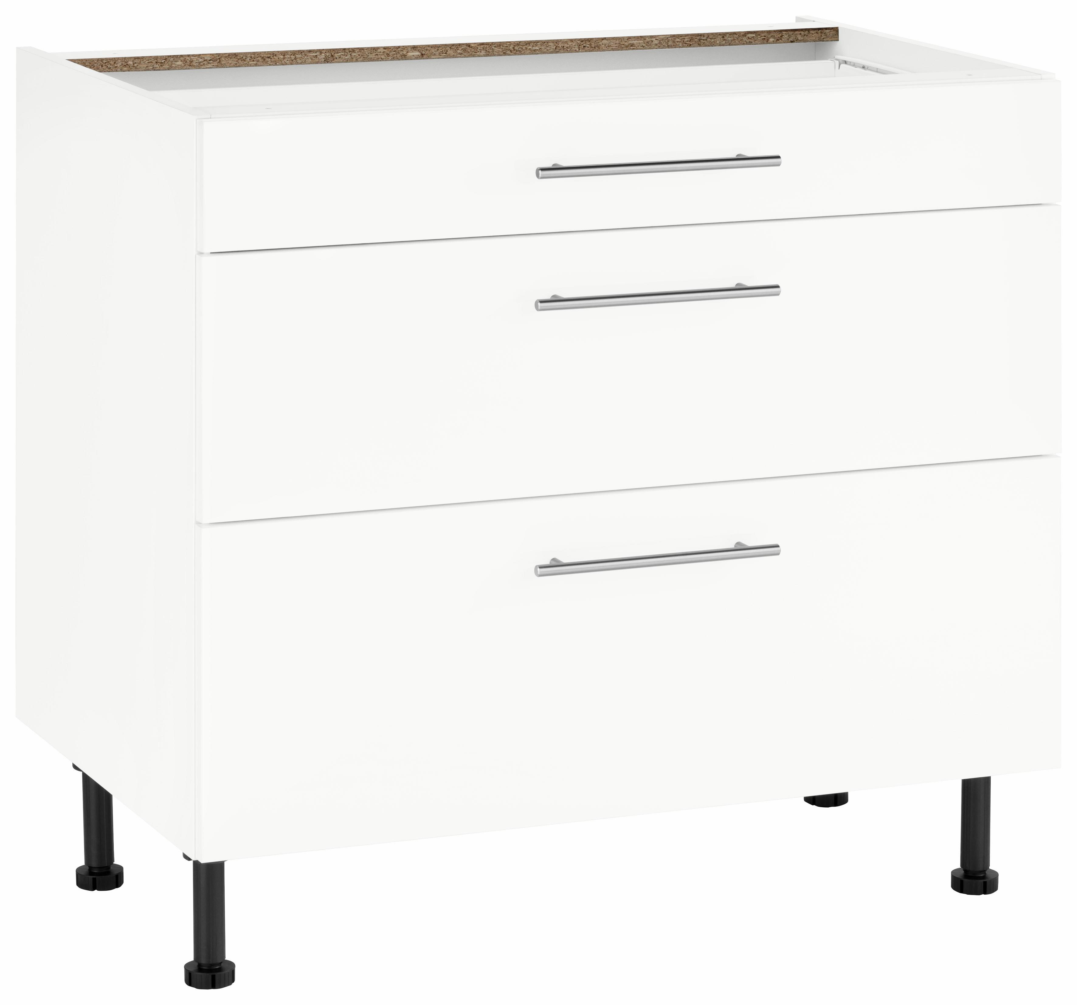 Wiho Küchen Unterschrank Ela Breite 90 Cm Mit Soft Close