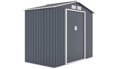 KONIFERA Set: Gerätehaus »Archer«, BxTxH: 213x127x185 cm kaufen
