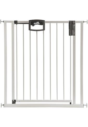 Geuther Türschutzgitter »Easylock Wood Plus, weiß/silberfarben« kaufen