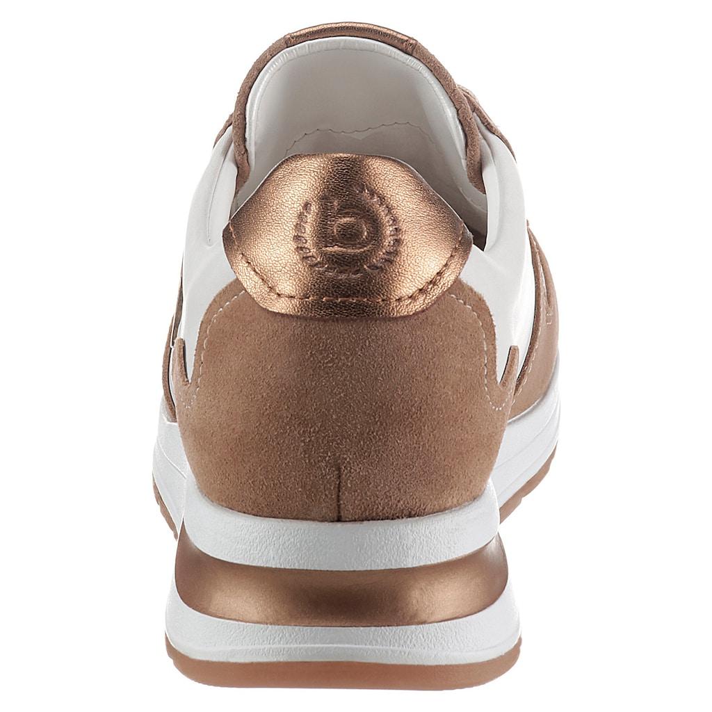bugatti Keilsneaker »VENICE«, mit dezentem Schmuckelement