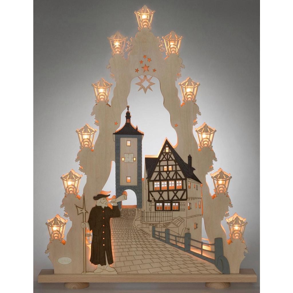 Weigla Schwibbogen »Rothenburg ob der Tauber«, 15-flammig