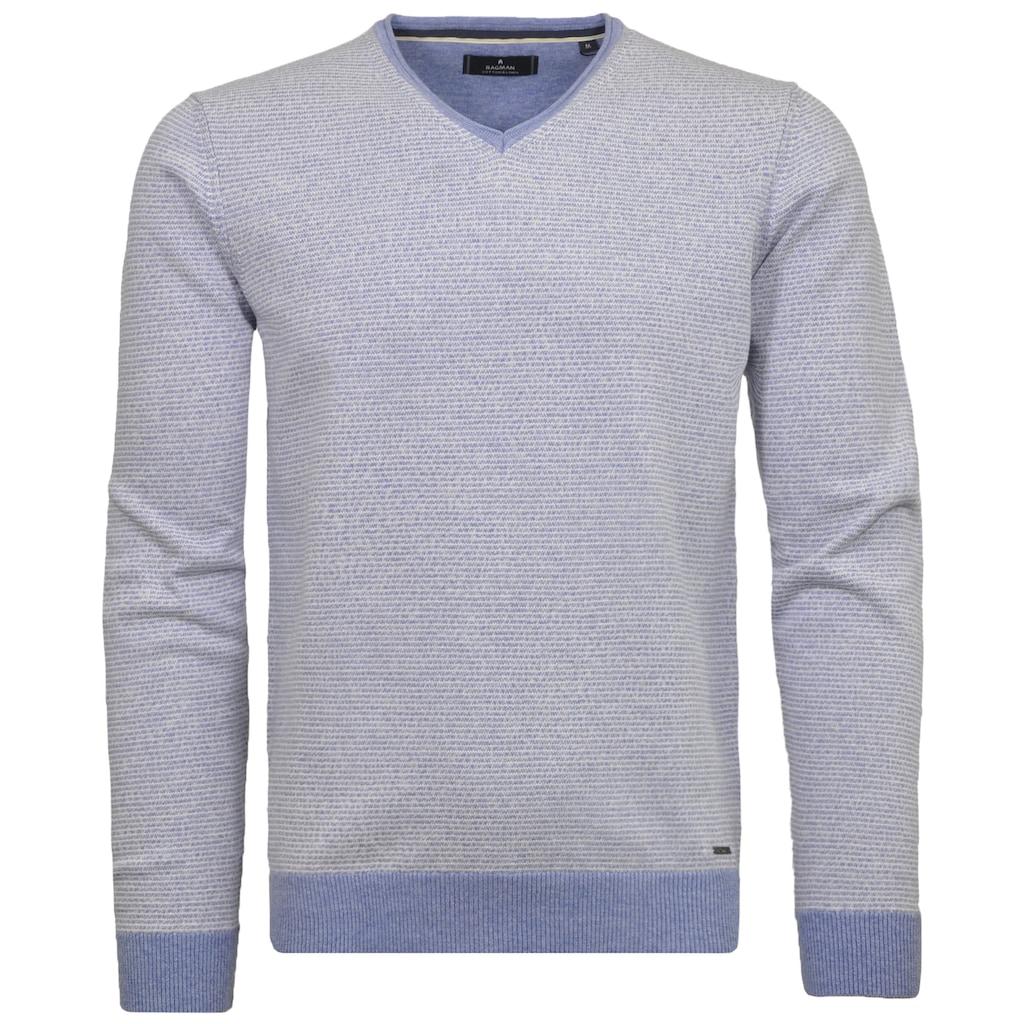 RAGMAN V-Ausschnitt-Pullover