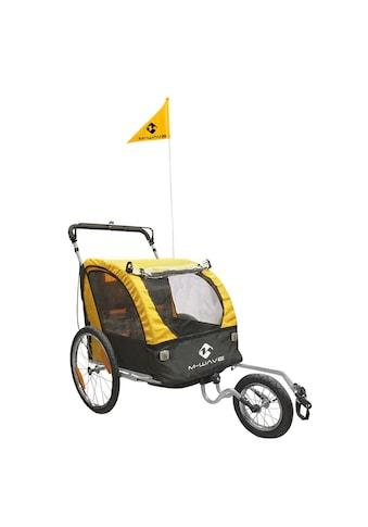 M-WAVE Kinder-/Gepäck-/Jogginganhänger »Kids Ride 3 in 1« kaufen