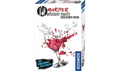 """Kosmos Spiel, """"Murder Mystery Party  -  Tödlicher Wein"""" kaufen"""