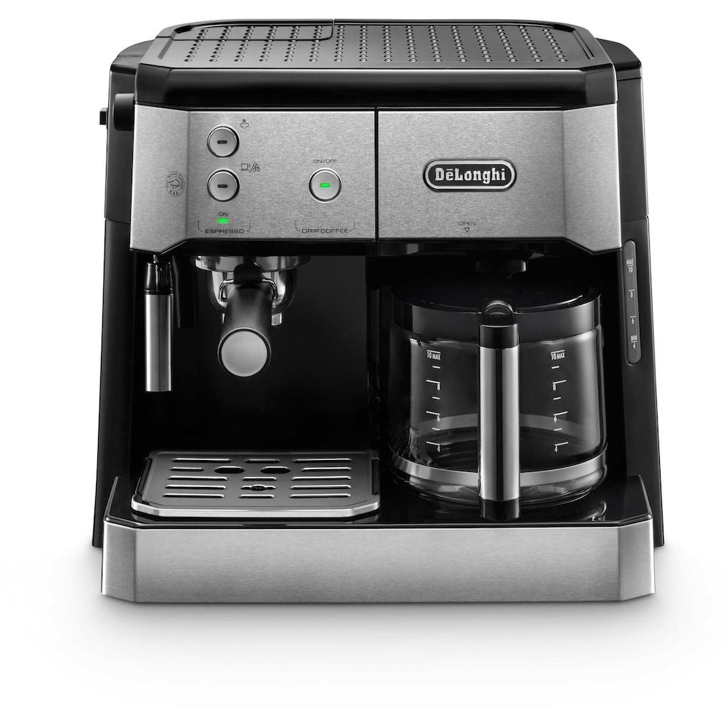 De'Longhi Siebträger-/Filterkaffeemaschine BCO 421.S