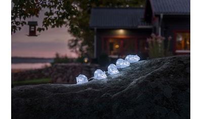 KONSTSMIDE LED-Dekofigur, LED Acryl Mäuse, 5er-Set, 40 kalt weiße Dioden kaufen