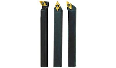 PROXXON Stahlhaltersatz »8 x 8 x 90 mit HM - Wendeplatten«, (3 - tgl.) kaufen