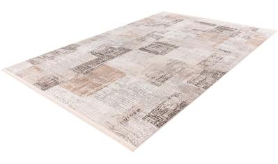 calo-deluxe Teppich »Miran 725«, rechteckig, 12 mm Höhe, Vintage Design, mit Fransen,... kaufen