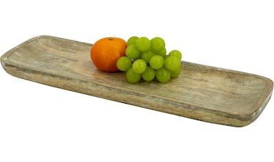 NOOR LIVING Tablett »Tablett, M, Mangoholz«, (1 tlg.) kaufen
