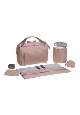 Lässig Wickeltasche »Goldie Twin Backpack Rose« kaufen